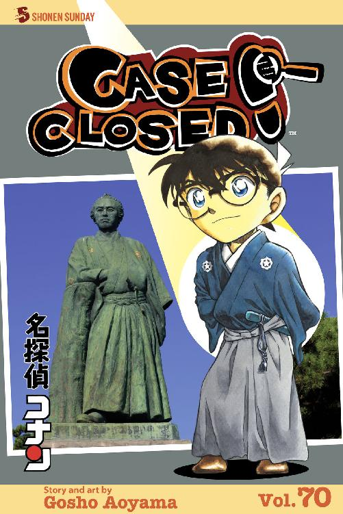Case Closed Volume 70 cover