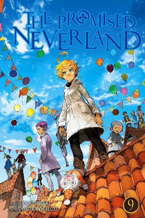 The Promised Neverland Volume 9 cover