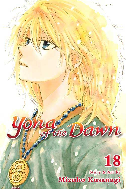 Yona of the Dawn Volume 18 cover