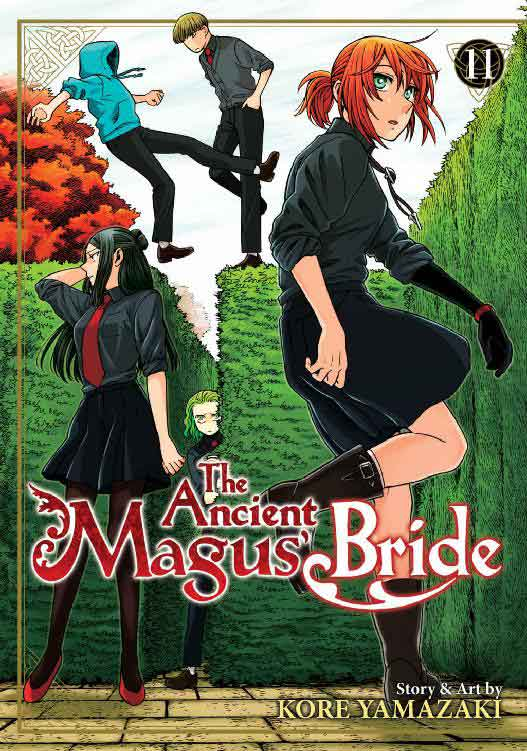 The Ancient Magus Bride Volume 11 cover