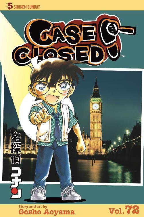 Detective Conan volume 72 cover.
