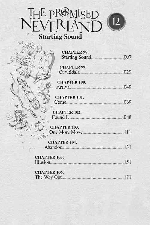 volume 12 table of contents.