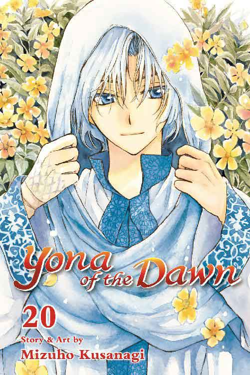 Yona of the Dawn Volume 20 cover.