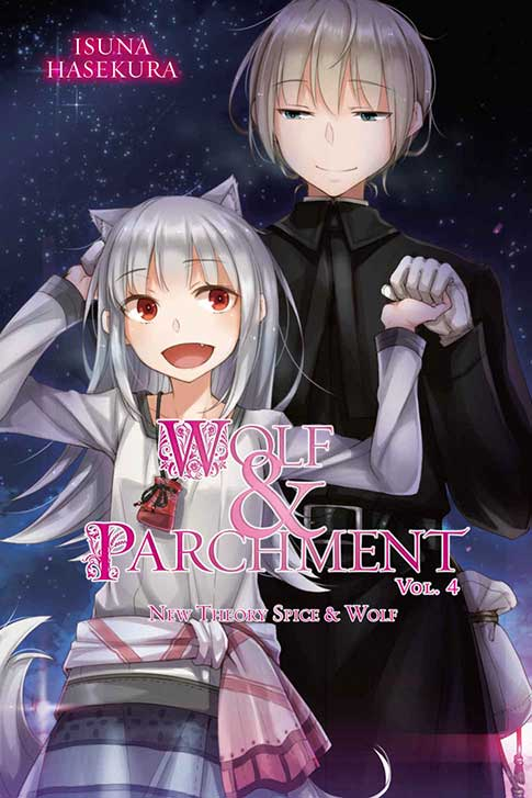Wolf & parchment Volume 4 cover