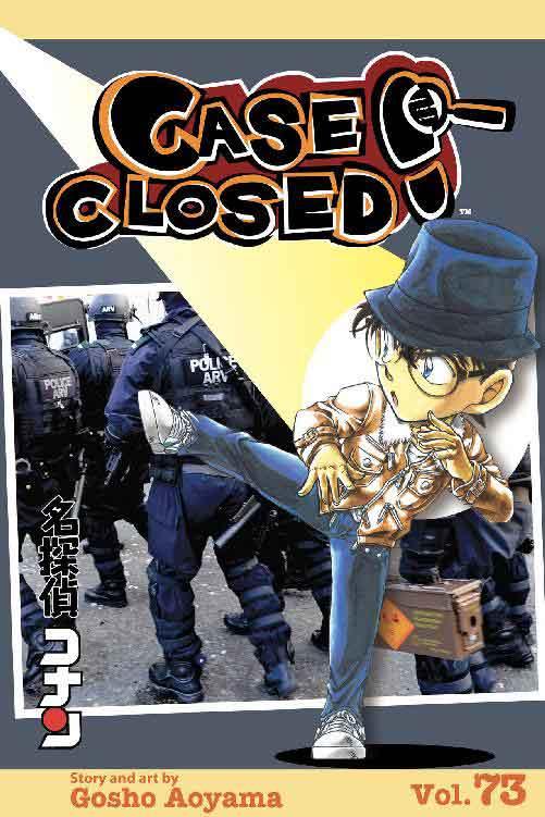 Case Closed Volume 73 cover