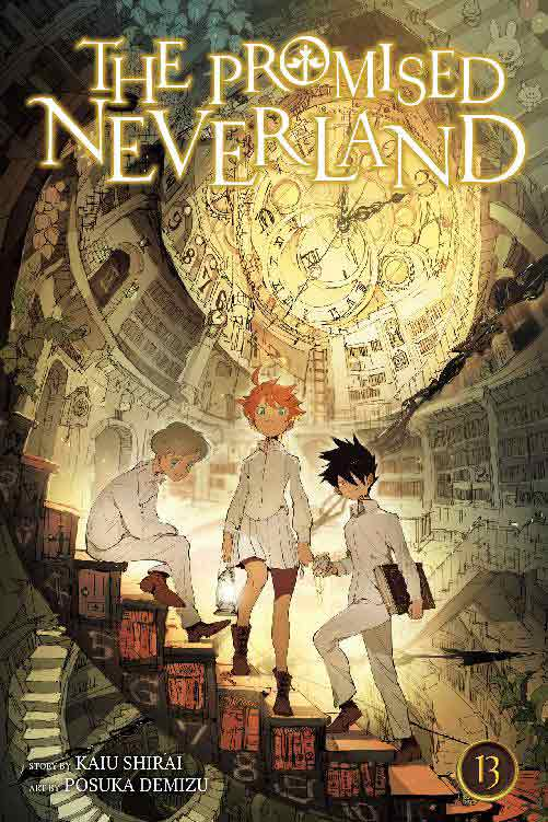 The Promised Neverland Volume 13 cover