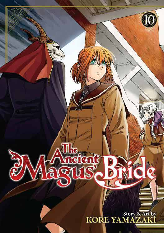 The Ancient Magus Bride Volume 10 cover