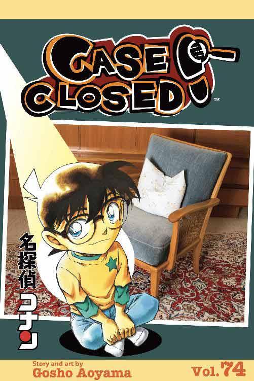 Detective Conan Volume 74 cover.