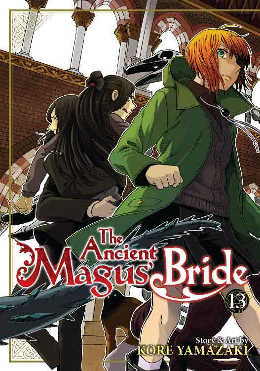 The Ancient Magus Bride Volume 13 cover.